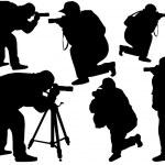 Photographers — Stock Vector