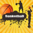 Basketball poster - Stock Vector