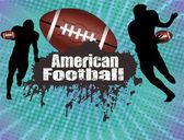 American football poster — Stock Vector