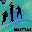Royalty-Free Stock Vector Image: Basketball design poster