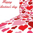 Royalty-Free Stock Vectorielle: Valentine`s day poster
