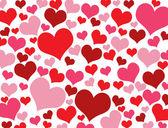 Textura de corações dos namorados — Vetor de Stock