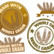 Whole Grain - Stock Vector
