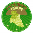 Royalty-Free Stock Vector Image: Grape label