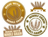 Whole Grain — Stock Vector