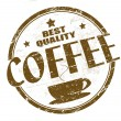 Coffee stamp - Stock Vector