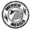 Mexico stamp — Stock Vector #4952215