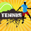 Royalty-Free Stock Vector Image: Tennis poster