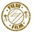 Film stamp - Stock Vector