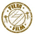 Постер, плакат: Film stamp