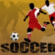 Royalty-Free Stock Vector Image: Soccer abstract background
