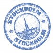 Royalty-Free Stock Vector Image: Stockholm stamp
