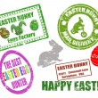 Easter stamps — Stock Vector