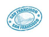San Francisco text — Stock Vector