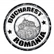 Bucharest stamp — Stock Vector