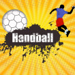 Handball poster — Stock Vector #5120572