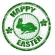 Royalty-Free Stock Vector Image: Happy Easter stamp