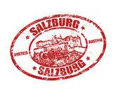 Salzburg stamp — Stock Vector