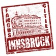 Royalty-Free Stock Vector Image: Innsbruck stamp
