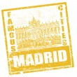 Madrid stamp — Stock Vector