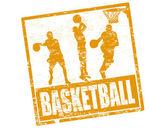 Sello de baloncesto — Vector de stock