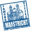 Royalty-Free Stock Vector Image: Maastricht stamp