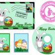Royalty-Free Stock Vector Image: Easter elements