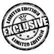 Exclusive - limited edition stamp - Stock Vector