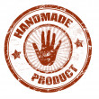 Handmade product stamp — Stockvectorbeeld