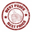 Royalty-Free Stock Vector Image: Best price stamp
