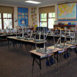 Stock Photo: Third grade classroom