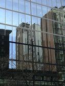Odraz budov — Stock fotografie