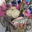 Stock Photo: Colorful items for sale in Mexicgift shop