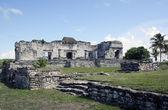Tulum meksika 2 kalesi'nde — Stok fotoğraf
