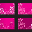 Royalty-Free Stock Vector Image: Floral cards