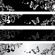 Royalty-Free Stock Vector Image: Floral banners