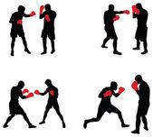 Boxers — Vector de stock