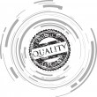 Quality stamp — Stock Vector