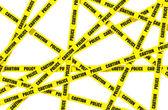 Police tape — Stock Vector