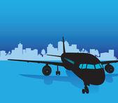 飞机 — 图库矢量图片