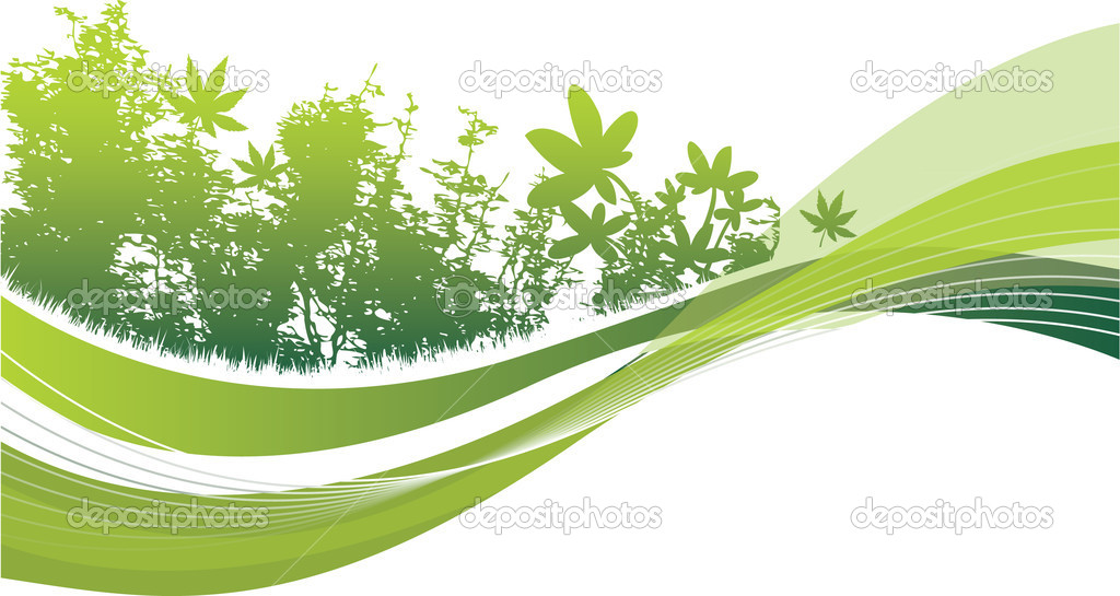 Abstract woodland  Stock Vector #4099231