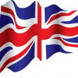 British flag - Stock Vector
