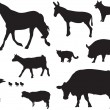 Animals — Vector de stock #4108563
