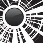 vidrios rotos — Vector de stock