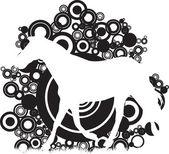 Cavalo — Vetorial Stock