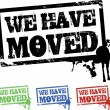 We have moved — Stock Photo #4218159