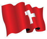 Switzerland flag — Stock Photo