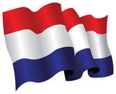 Netherlands flag — Stock Photo