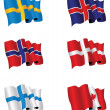 Set of flags — Stock Photo #4604916