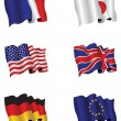 Set of Flags — Stock Photo #4605062